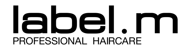 label.ml professional haircare