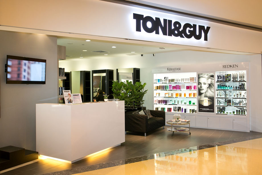 Online booking at TONI&GUY Marina Bay