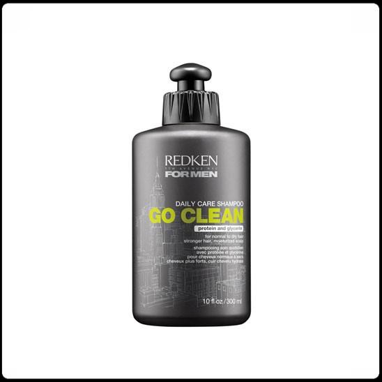 Go clean daily care moisturizing shampoo for men (300ML)