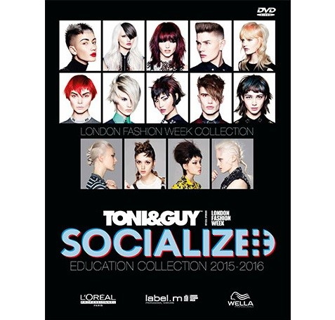 TONI&GUY DVD SOCIALIZED 2015/2016