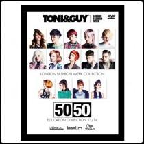 TONI&GUY 50/50 COLLECTION 2013/14 DVD